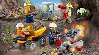 ОБЗОР LEGO City Бригада шахтеров (60184 )
