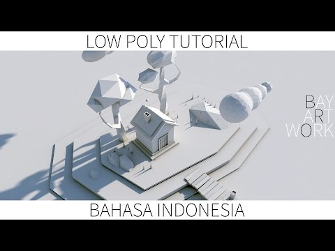 Cinema 4D Tutorial - Modelling Low Poly  (Bahasa Indonesia)