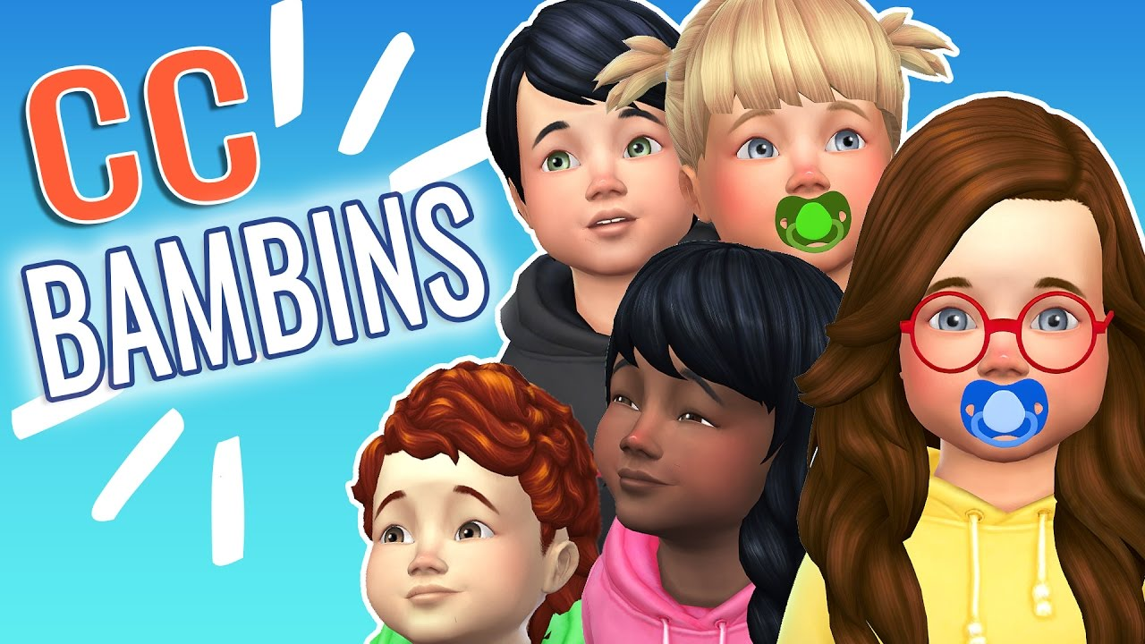 MES 1ERS CC BAMBINS - SIMS 4 - YouTube