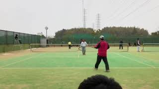 清原翔徳(長崎)林弥生(大阪) 3 vs 勢田萌乃(大阪)小倉康裕(京府) 0.