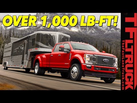 Torque Leader! 2020 Ford Super Duty Can Tow a Staggering 37,000 Lbs - Here Are All the Specs