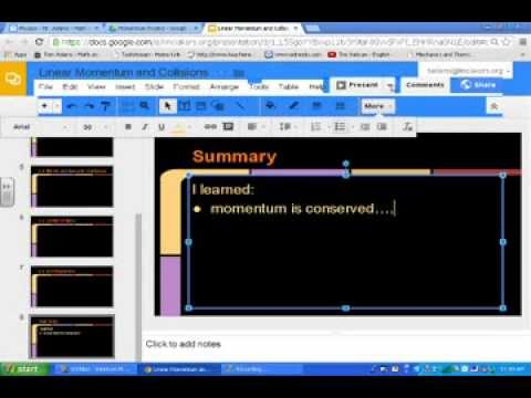 google slides how to create a google slide presentation youtube