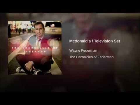 Mcdonald's  Television Set
