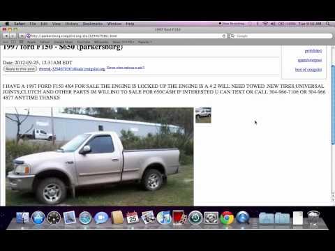 Craigslist Cars For Sale By Owner Parkersburg Wv