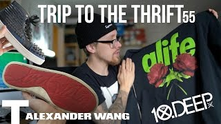 Alexander Wang, Red Bottom, Kenzo, 10 Deep, & Alife IN THE THRIFT! Trip To The Thrift 55