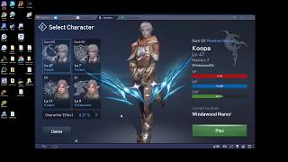 How to Play Lineage 2 Revolutions on PC with Bluestacks