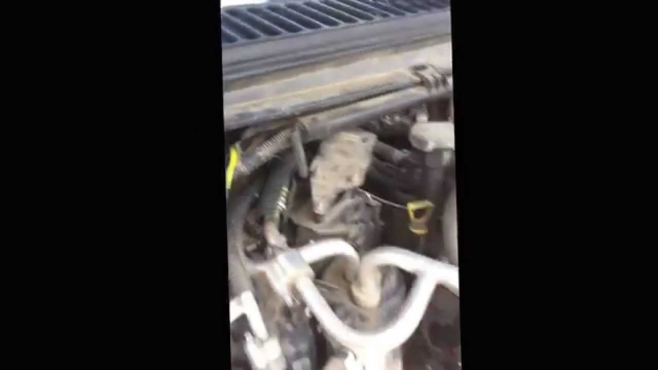 2003 f250 excursion stuck defrost fix