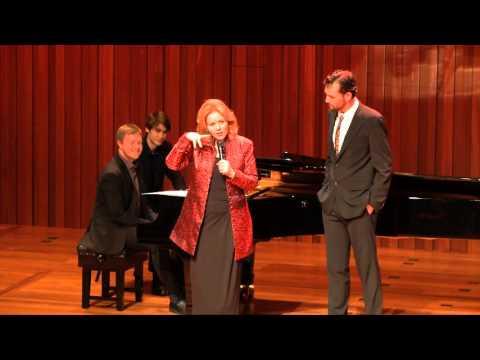 Guildhall Masterclass: Renée Fleming Vocal Masterclass - Daniel Shelvey