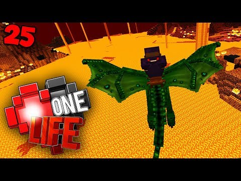 This was a really terrible idea. - Minecraft One Life SMP EP25