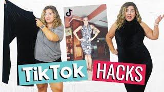 Testing Viral Tiktok Clothing Hacks!