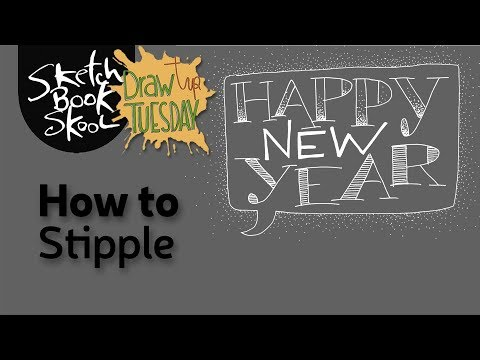 Happy New Year! How To Stipple