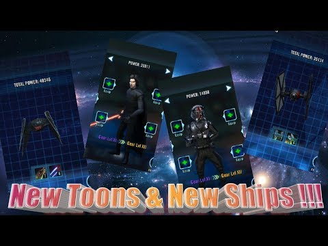 New First Order Ships and Characters!!!!   Stream Star Wars™: Galaxy of Heroes
