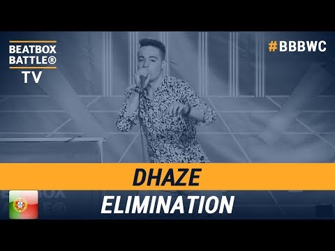 Dhaze from Portugal - Men Elimination - 5th Beatbox Battle World Championship