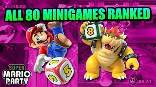 All Super Mario Party Minigames Ranked from Worst to Best
