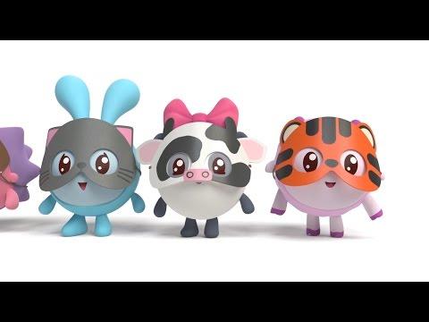 Малышарики - Новые серии - Мяу? Гав! (65 серия) Как говорят животные - Лучшие видео поздравления в ютубе (в высоком качестве)!