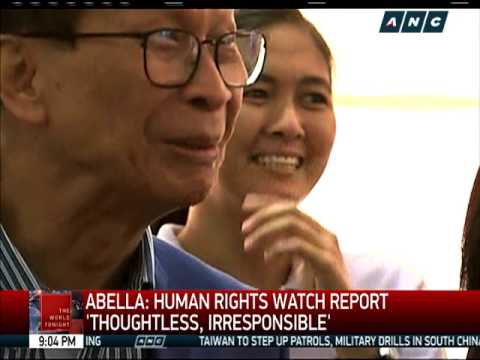 Human Rights Watch: Duterte could be liable for crimes against humanity