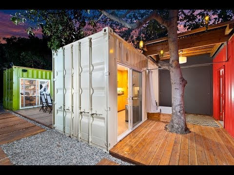 Ipme Builds Container House Venice California-ipme