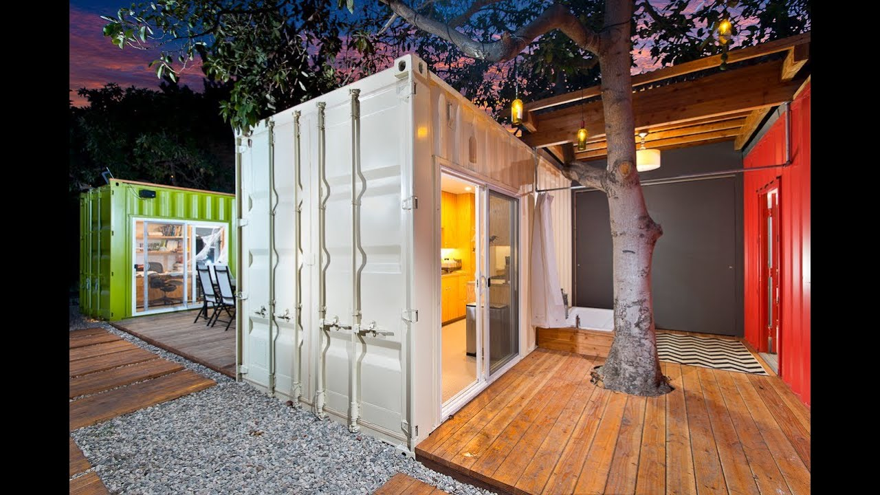 Ipme Builds Container House Venice California Ipme Youtube