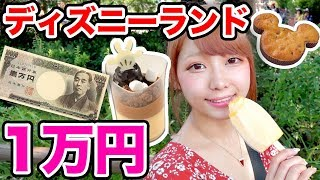 こんにちは!えっちゃんです♪ 今回はディズニーランドで1万円ぶんの大食...