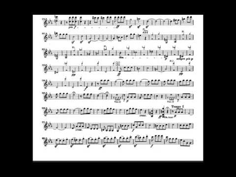 Beethoven Symphony No.5 in C Minor Op, 67 (Fate) Violin Sheet Music