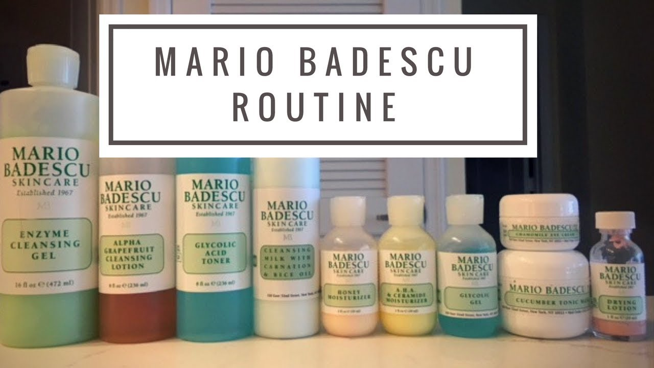 Mario Badescu Routine Combination Sensitive Skin Subscriber Request