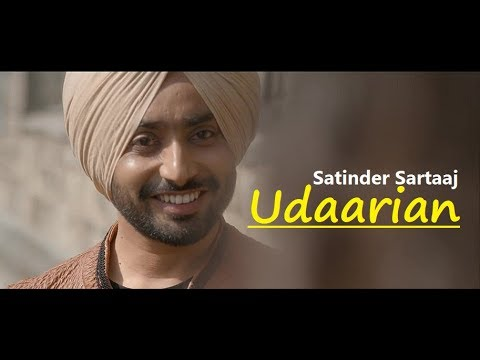 Udaarian | Satinder Sartaaj | Lyrics | Jatinder Shah | Sufi Love Song | Latest Punjabi Songs 2018