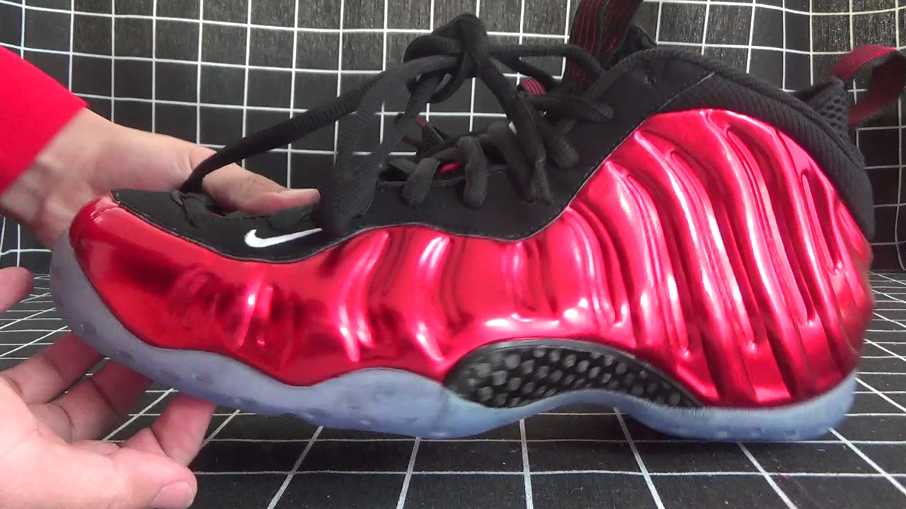 1cae53de5ad Authentic Nike Air Foamposite One Metallic Red 2017 Review From  WWW.KICKSRETRO.CN