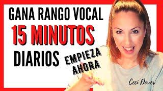 15 minutos para vocalizar con voz de cabeza ESCUELA DE CANTO ONLINE