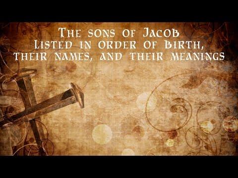 The Gospel veiled in Jacobs 12 Sons