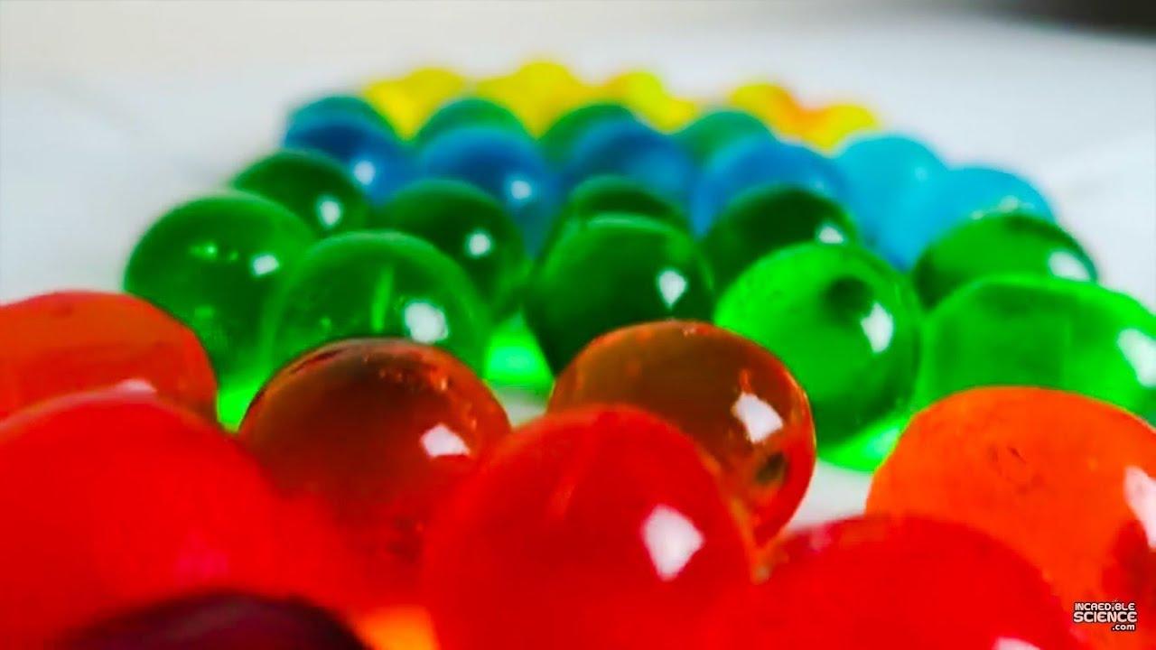 Make Edible Orbeez Water Ballz Polymer Balls Easy Instructions