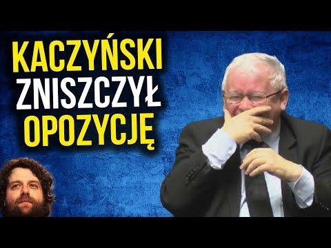 Jarosław Kaczyński [ PIS ] POWRÓCIŁ i Zniszczył Opozycję - Komentator