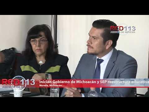 VIDEO Inician Gobierno de Michoacán y SEP reestructura educativa