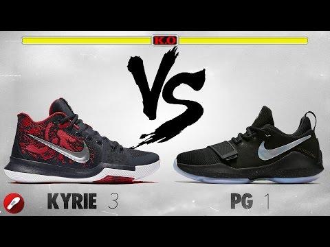 Nike Kyrie 3 vs PG 1 (Paul George 1)!
