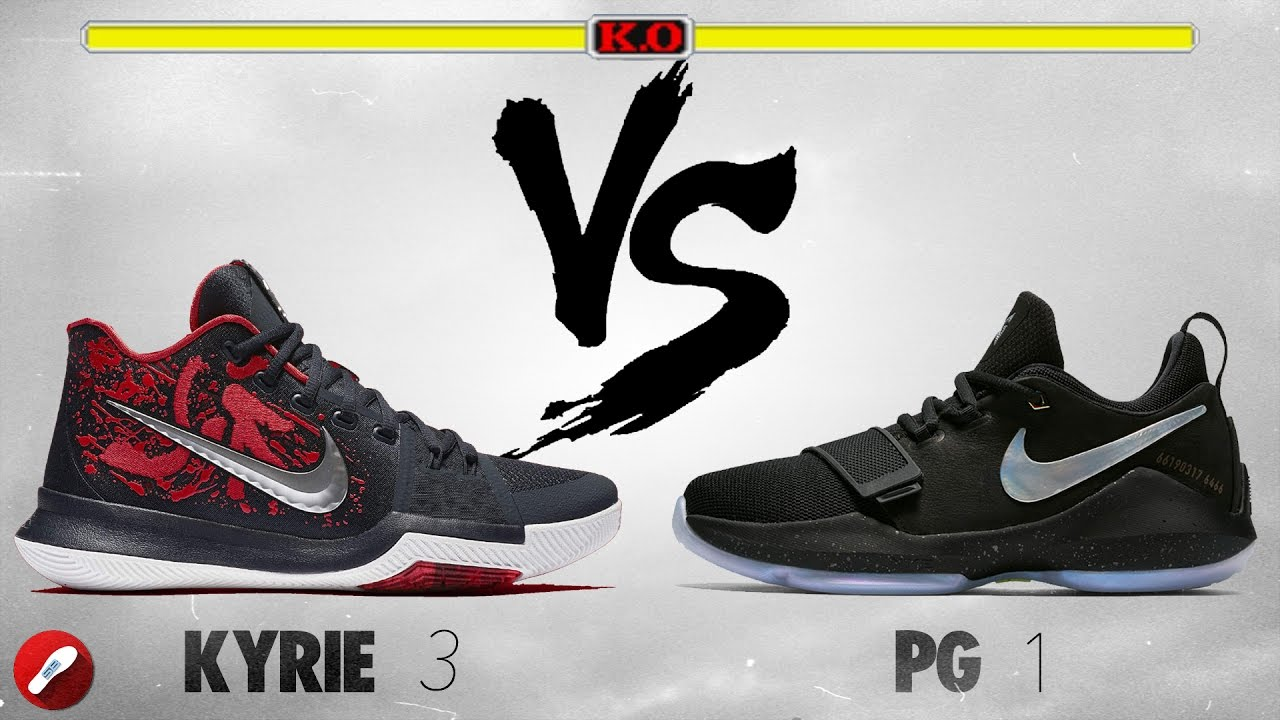 83a159ede93f Nike Kyrie 3 vs PG 1 (Paul George 1)! - YouTube
