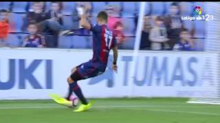 Resumen de SD Huesca vs CD Mirandés (3-0)