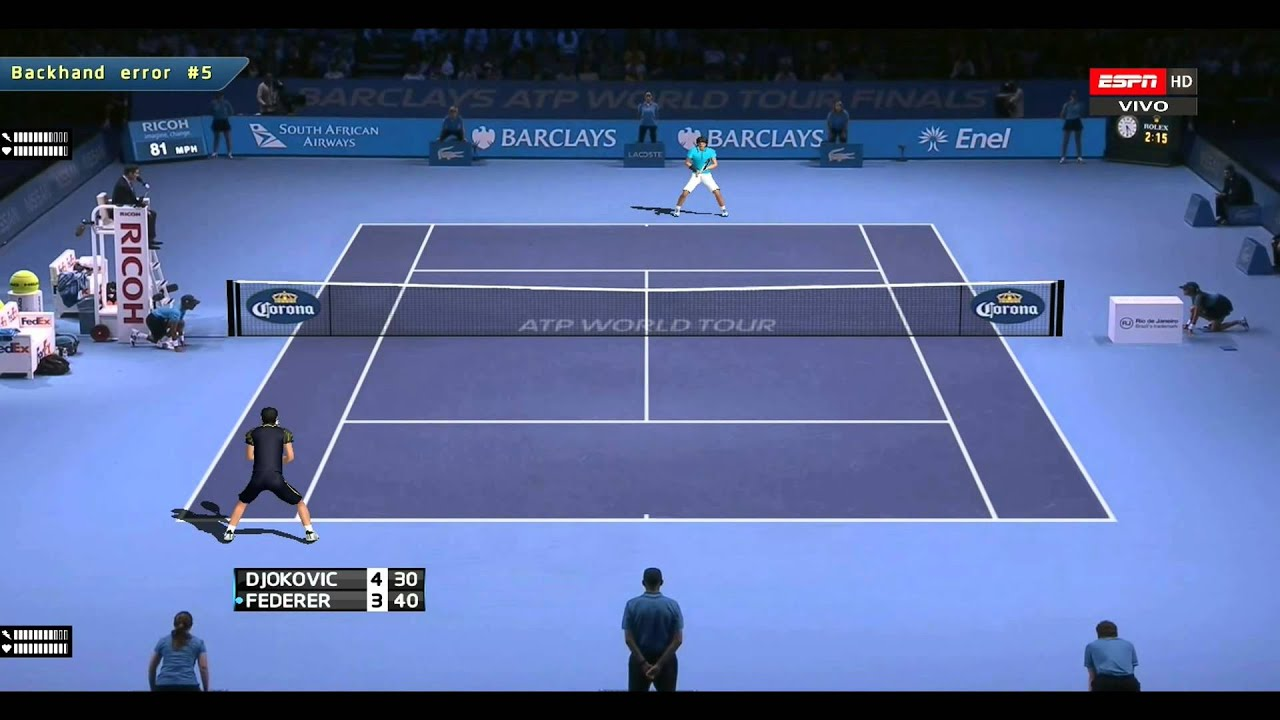 Tennis Elbow 2013 Federer