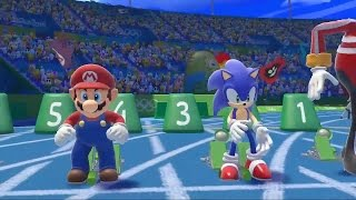 Дебютный трейлер Mario & Sonic at the Rio 2016 Olympic Games