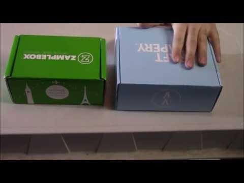 Zamplebox vs Craft Vapery - E Juice Subscription service showdown!