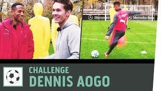 Freistoß-Challenge vs. Dennis Aogo | VfB Stuttgart | Fußball-Challenge | Kickbox