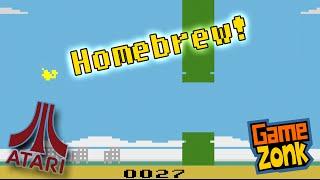 Flappy - Atari 2600 Homebrew Game - Play Through
