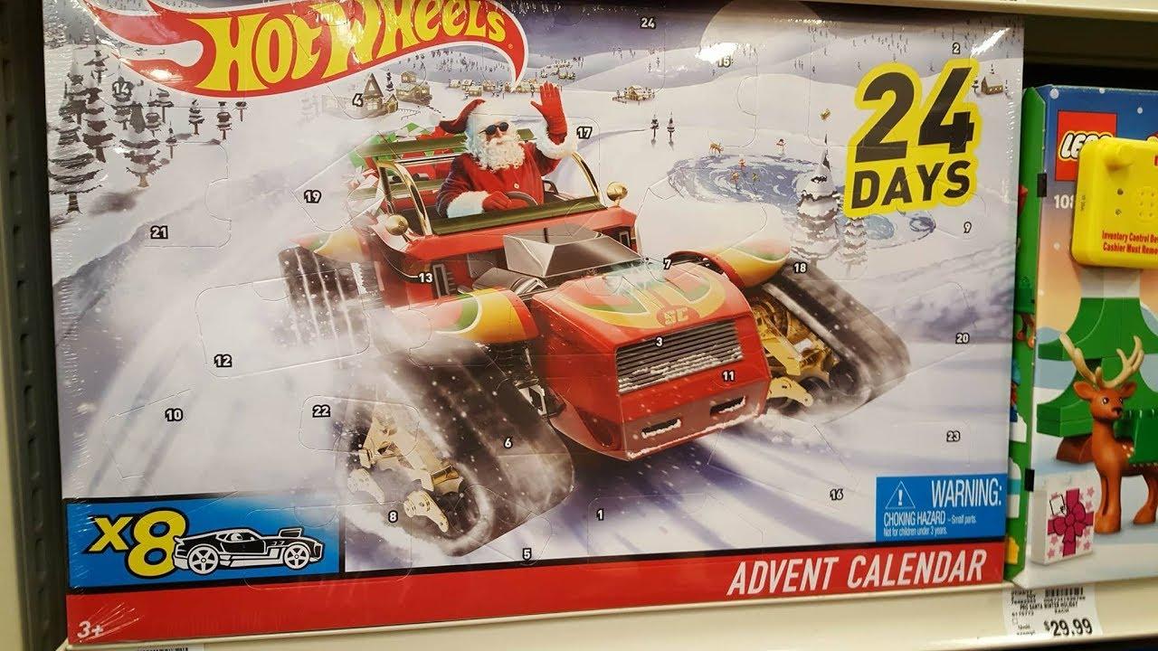 Hot Wheels Advent Calendar 2020 Hot Wheels Advent Calendar Unboxing 2017   YouTube