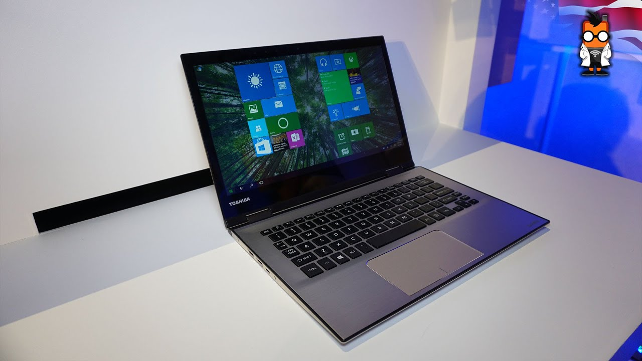 Toshiba Satellite 13 Ultrabook With Skylake Hands On English