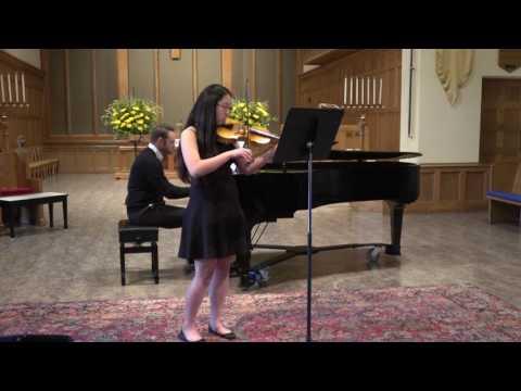 2017 Opus 1 Music Studio Summer Recital   - Esther Lee , Violin