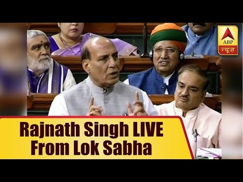 ABP News is LIVE | Rajnath Singh LIVE from Lok Sabha