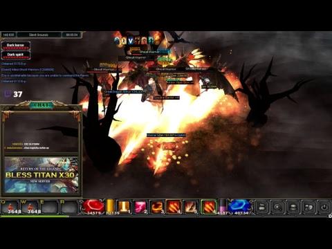 3rd WINGS Craft Bless MU Online Titan X30 - Mu.bless.gs