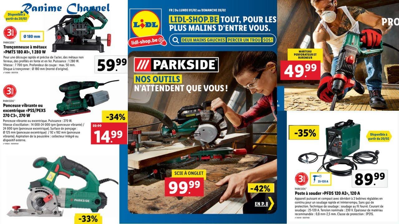 catalogue lidl shop special bricolage du 1er au 28 fevrier 2021 arrivage outillage parkside