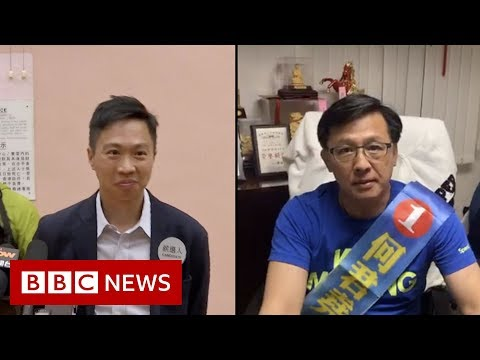 hong-kong-elections:-a-winner-and-loser-in-historic-poll-result---bbc-news