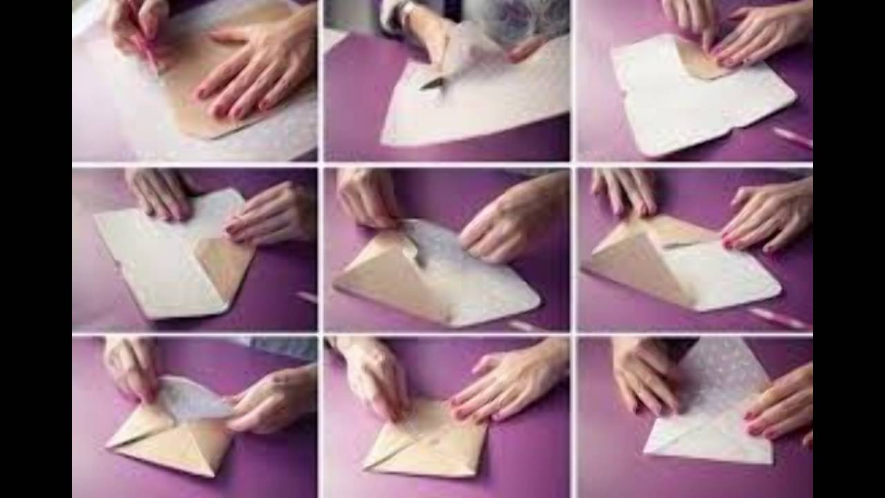 how to make paper cover - YouTube