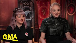Game of Thrones stars share advice for their season 1 characters l GMA