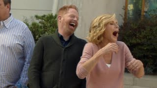 exclusive modern family season 8 gag reel watch and try not to laugh